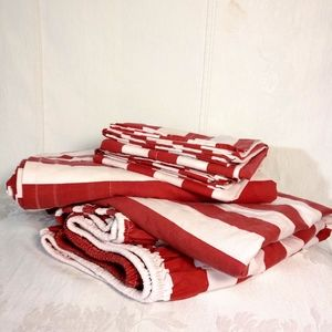 4 Piece Twin Sheet Set Candy Stripe Company Store